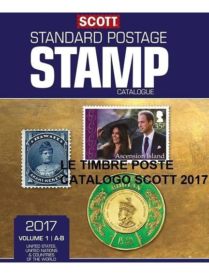 Scott Stamp - Catálogo De Selos Mundiais 2015- 2 Dvds/e-mail