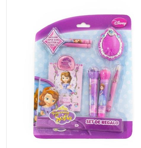 Princesa Sofia Set De Regalo Útiles Para Niñas