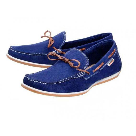 Mocassim Laroche 3251 - Azul - Delabela Calçados