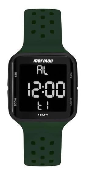 Relógio Mormaii Unissex Digital Verde Prova D