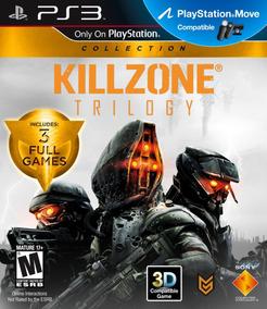 Jogo Killzone Trilogy Ps3 3 Jogos Mídia Física Frete Grátis!