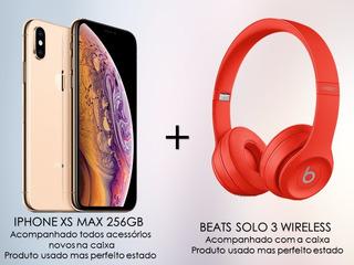 iPhone XS Max 256gb + Beats Solo 3 Wireless