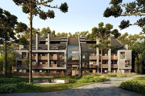 Apartamento Com 1 Dormitório À Venda, 54 M² Por R$ 757.000,00 - Planalto - Gramado/rs - Ap1248