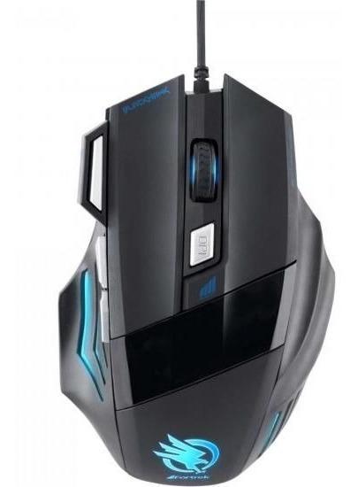 Mouse Gamer Fortrek Black Hawk Om-703 - 2400dpi 7 Botões Usb
