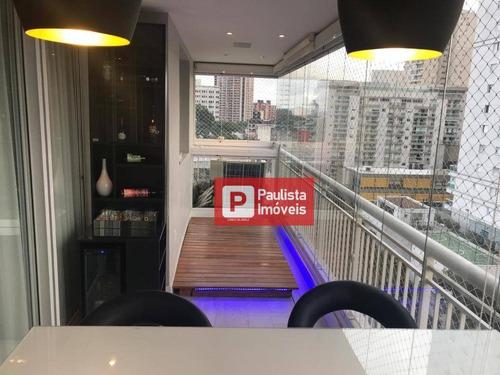 Apartamento Com 3 Dormitórios À Venda, 98 M² - Santo Amaro - São Paulo/sp - Ap31482