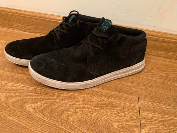 Zapatillas Volcom Color Negro Talle 44 Usadas Aprovéchalas!