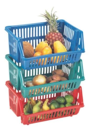 Organizador De Frutas Y Verduras Colplast X3