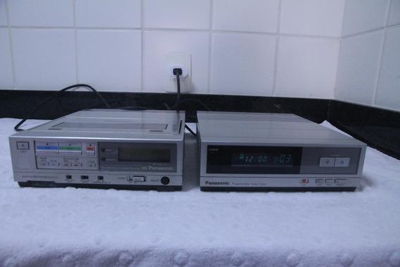 Video Cassete Panasonic Pv 8000 Com Tuner - Antigo Anos 80!