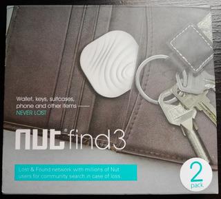 Nut Find3 Smart Tracker X2 Encuentra Tus Llaves O Artículos