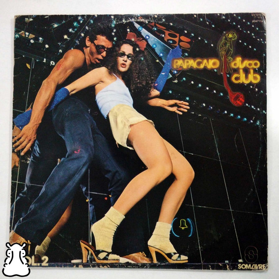 Lp Papagaio Disco Club Vol 2 Vinil Patrick Juvet La Bionda