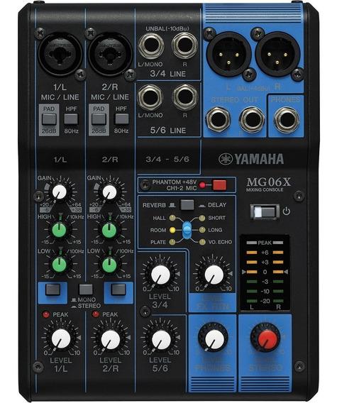 Mesa De Som Yamaha Mg06x