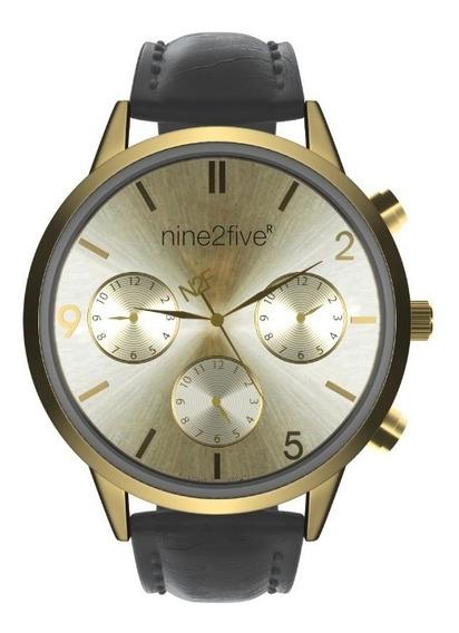 Reloj Nine2five Para Dama Afw19i15azgls1 Negro