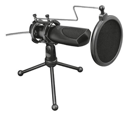 Micrófono Trust GXT 232 Mantis 22656 condensador omnidireccional negro