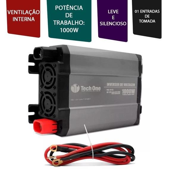 Inversor Transformador 1000w 12v P/ 110v Com Saida Para Usb