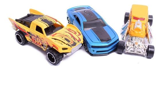 Autos Coleccionable X 3 Escala 1:64 Simil Hot Wheels 6265
