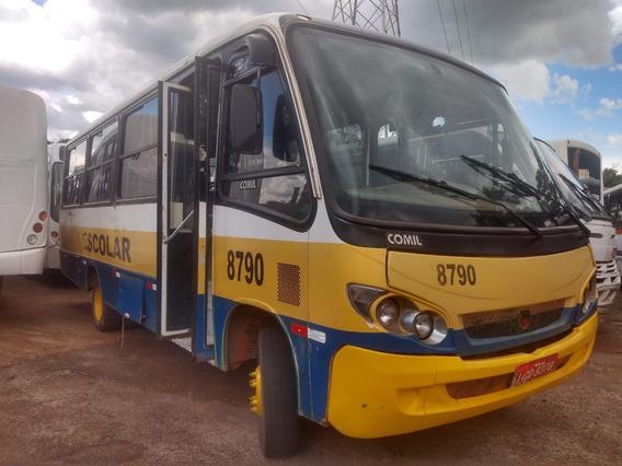 Cód. 35 Micro Ônibus Comil Piá Escolar Rural Urbano Ano 2002