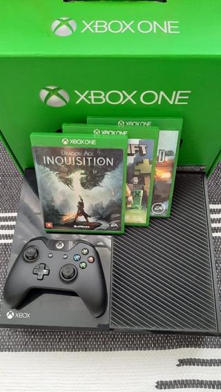 Xbox One 500gb/controle/ 3 Jogos