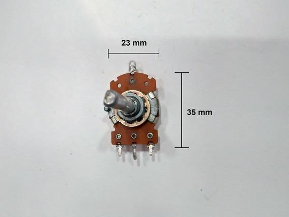 Potenciômetro Simples Grande P/ Balanço Com Derivação 100 K