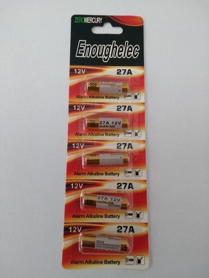Bateria 12v 27a Alcalina Cartela Com 5 Unidades