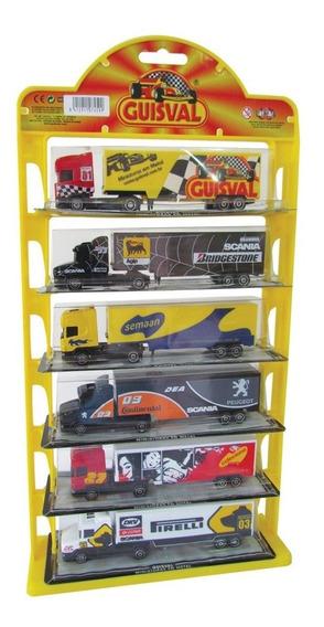 Carretas De Ferro Guisval Diecast Escala 1:87 Brinquedos