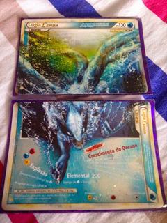 Carta Pokémon Lugia Lenda Hgss 113/123 E 114/124