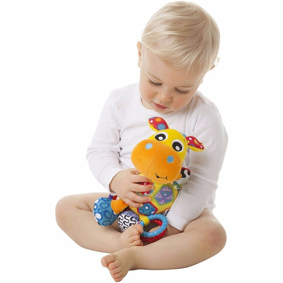 Peluche Colgante Playgro Activity Friend Jerry Giraffe