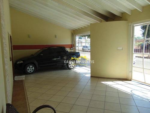 Casa Com 3 Dormitórios À Venda Por R$ 650.000,00 - Jardim Souza Queiroz - Santa Bárbara D'oeste/sp - Ca1216