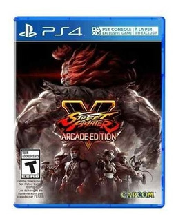 Juego Ps4 Street Fighter V Arcade Edition