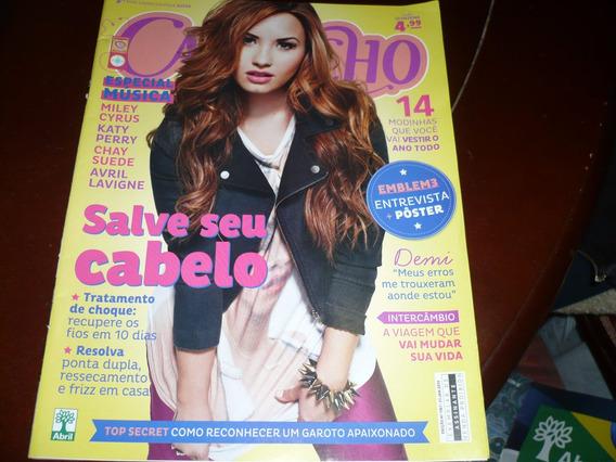 Revistas Capricho Com Demi Lovato Jan/13, Capa E Reportagem