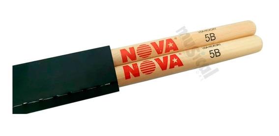 Baqueta Vic Firth Serie Nova Classic Hickory 5b Balanceada