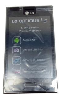 Celular Lg Optimus L5 Nuevo Para Refaccion Negro