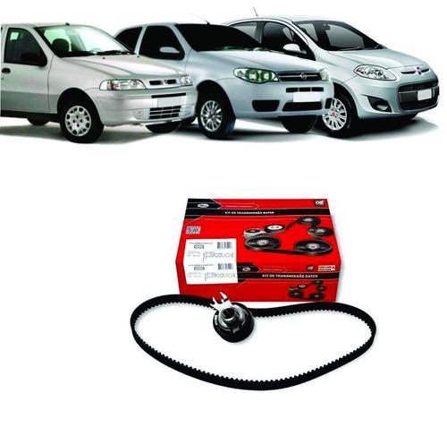 Kit Correia Dentada Fiat Palio 1.0 8v Fire 2001 A 2017 Gates