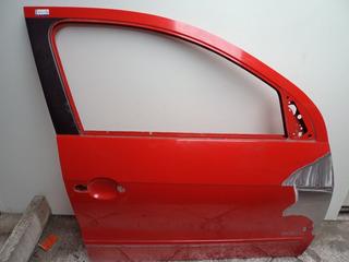 Porta Dianteira Direita Volkswagen Gol G5 *vermelha