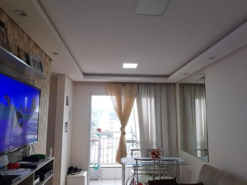 Apartamento Com 2 Dormitórios À Venda, 53 M² Por R$ 290.000 - Ortizes - Valinhos/sp - Ap0970