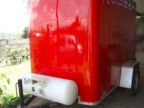 Remolque Acondicionado Para Food Truck, Nuevo, Diseño Retro