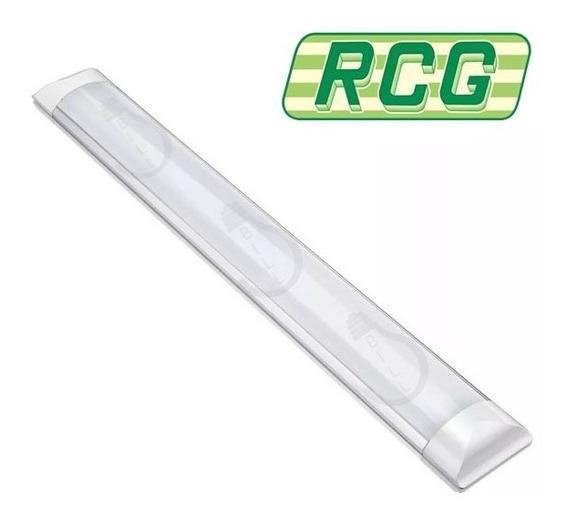 Luminaria Tubolar Para Fluorescente 2 X 32w 36w 40w Branca