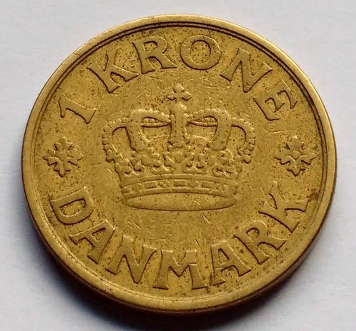 Moneda De Dinamarca, 1 Krone 1926.