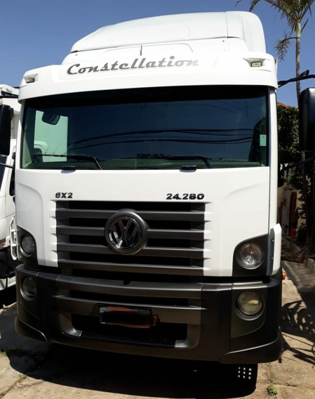 Vw 24280 Constelation 2012 No Bau Refrigerado De 7,7mts
