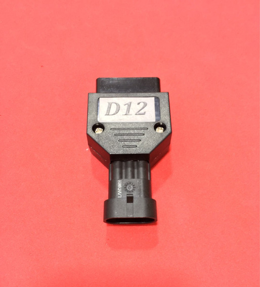 Rasther 3 - Conector D12 Fiat 3 Pinos