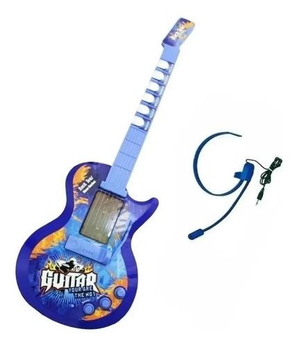 Guitarra Eléctrica Para Niños Gida Toys Hk-9010b