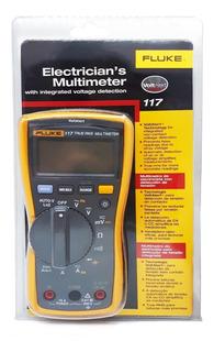 Multimetro Fluke 117 Tester Digital Frecuencia Cat 600