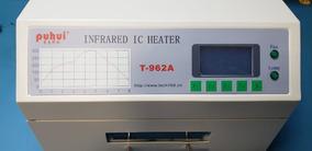 Forno De Reflow Infrared Puhui T-962a - Pronta Entrega