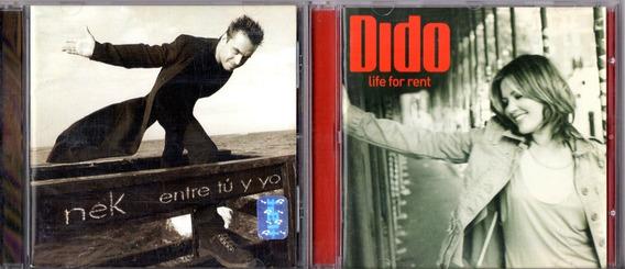 Nek Entre Tu Y Yo + Dido Life For Rent 2 Discos Cds Liquido!