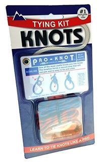 Pro Knot Knot Tying Kit20tarjetas De Nudos Esenciales On