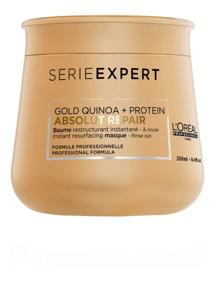 Bálsamo S Expert Absolut Repair Gold Quinoa 250 Ml Loréal