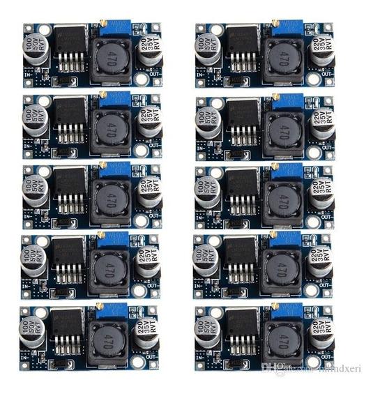 Regulador Tensão Lm2596 Conversor Dc-dc Step Down 10 Pcs