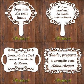 3 Placas Casamento Págem, Daminha Personalizada 28 Modelos