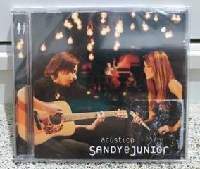 Cd Sandy & Junior Acústico Novo Original Lacrado Frete R$ 13
