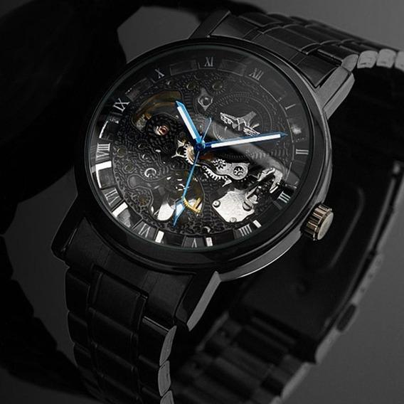Novo Estilo Automático Relógios Mecânicos Para Homens Comple