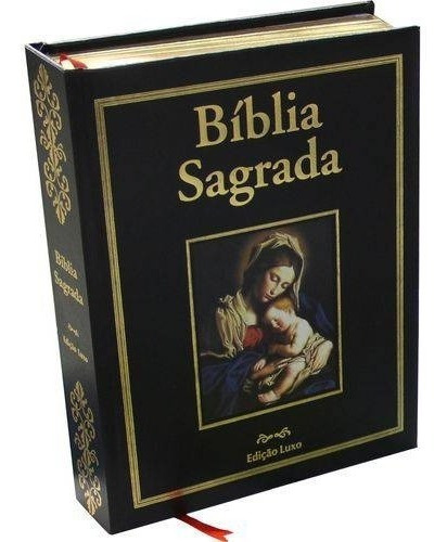 Biblia Sagrada Catolica - Edição Especial De Luxo - Pae